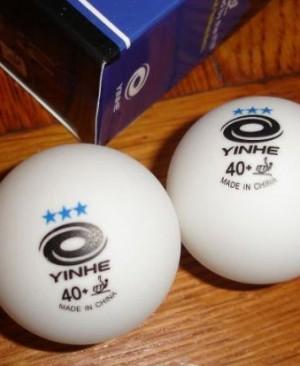 banh bóng bàn Yinhe 40 cộng